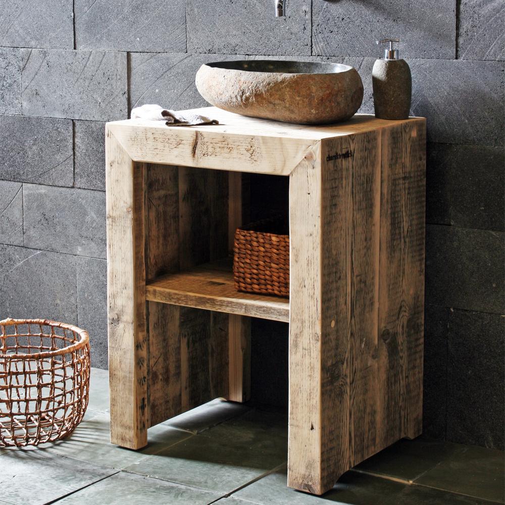badunterschrank bauholz massiv spa ambiente. Black Bedroom Furniture Sets. Home Design Ideas