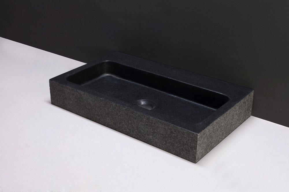 naturstein waschtisch taranto basalt 50 cm spa ambiente. Black Bedroom Furniture Sets. Home Design Ideas