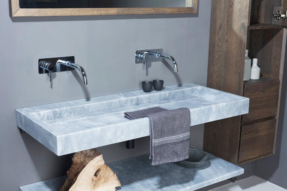 naturstein waschtisch bellezza marmor matt poliert spa. Black Bedroom Furniture Sets. Home Design Ideas