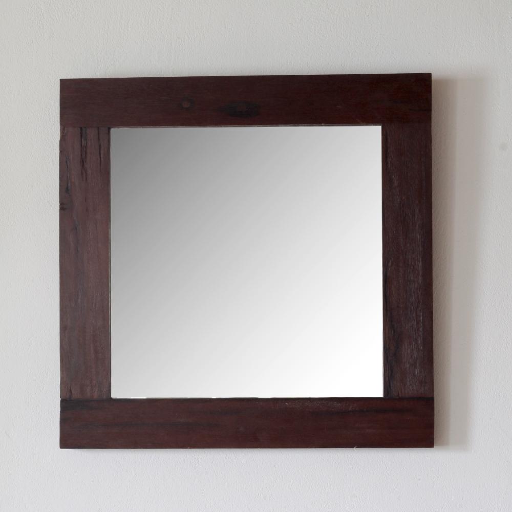 Eisenholz spiegel 50x50 cm spa ambiente - Spiegel salon ...