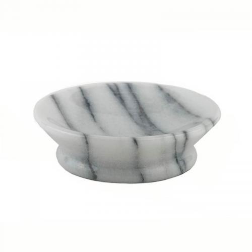 Gloss Marble White Seifenschale