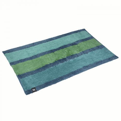 Block Stripes, seegrün Badematte