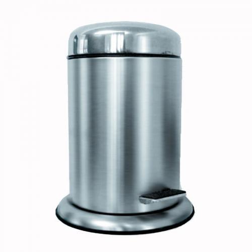 Step Bin Abfallbehälter, silber