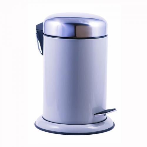 Step Bin Abfallbehälter grau