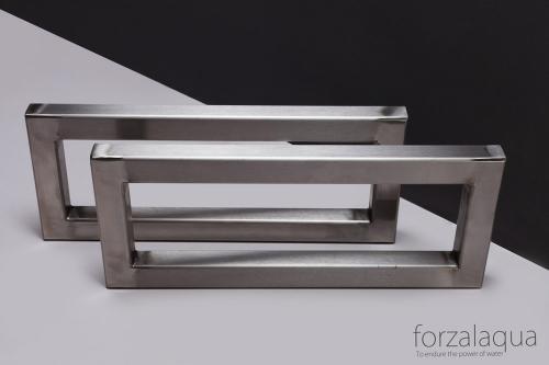 Halterungssatz aus Edelstahl | Forzalaqua 51 cm
