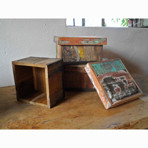 3er Set Aufbewahrungsboxen