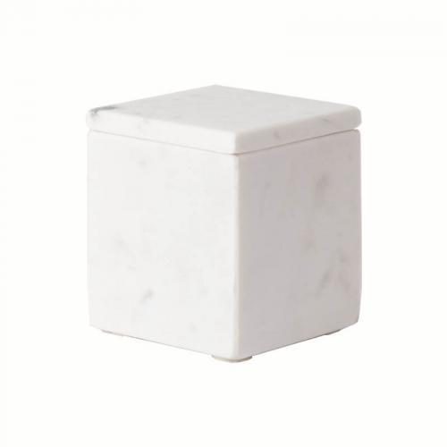 Cubic White Kosmetikdose