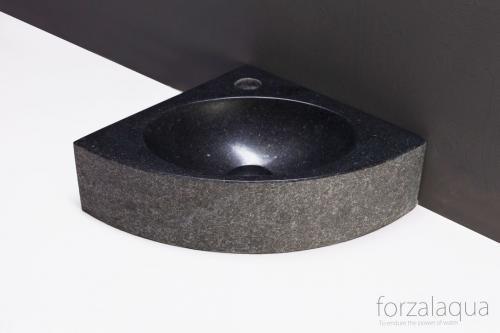 Naturstein Handwaschbecken TURINO GRANIT gebrannt 30 cm