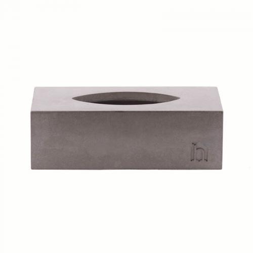 Cubic Concrete Kosmetiktücherbox