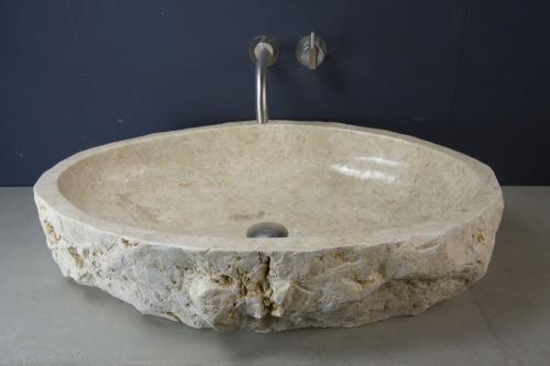 Natursteinwaschbecken Marmor | Unikat#Juni-06