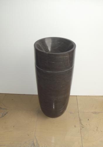 Standwaschtisch Blaustein rund 40 x 40 x 90 cm