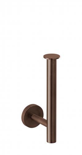 Design iX PVD Reservepapierhalter    Edelstahl PVD Copper Steel