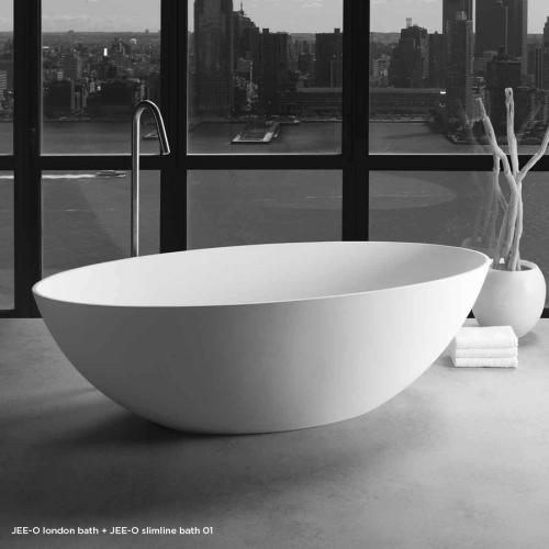 """London"" freistehende Badewanne aus DADOquartz | JEE-O"