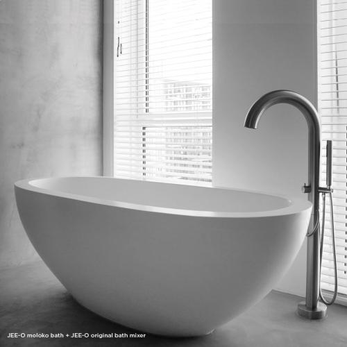 """Moloko"" freistehende Badewanne aus DADOquartz   JEE-O"