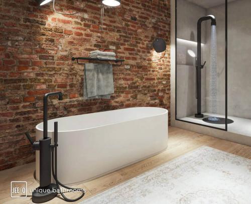 """soho bath"" freistehende Badewanne aus DADOquartz | JEE-O"