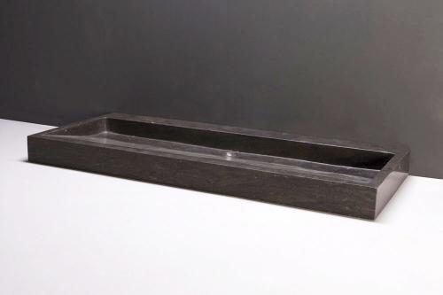 Naturstein Waschtisch PALERMO BLUESTONE matt poliert
