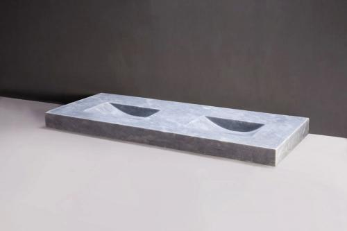 naturstein doppelwaschtisch napoli ii marmor 160 cm matt poliert spa ambiente. Black Bedroom Furniture Sets. Home Design Ideas