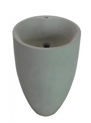 Standwaschtisch aus Sandstein mit Hahnloch