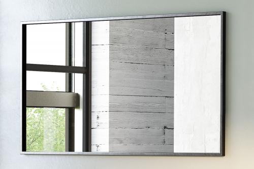 """""""Rooms"""" Spiegel rechteckig mit schwarzem Metallrahmen versch. Größen 120 x 3 x 70"""