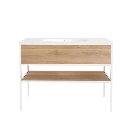 waschtischunterschrank white sense 120 cm spa ambiente. Black Bedroom Furniture Sets. Home Design Ideas