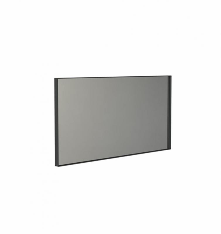 """""""Unu"""" eckiger Spiegel schwarz   FROST 50 x 100 x 3 cm"""