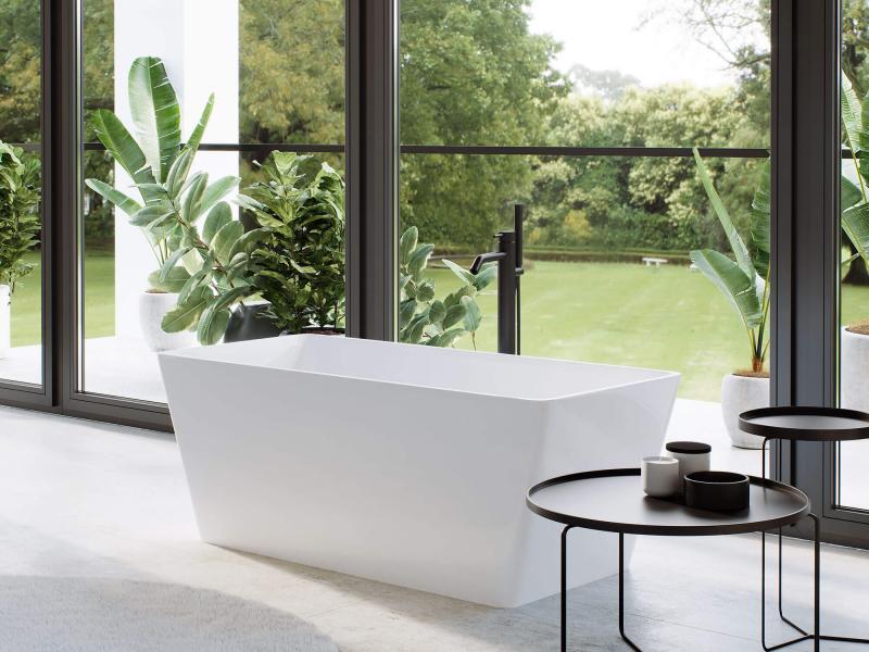 """""""Adeon"""" freistehende Badewanne aus senstone® mit 5 Jahren Garantie   Lapidispa®"""