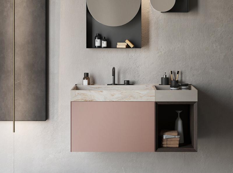 """Compact Living"" Badmöbel Kollektion   Rexa Design"