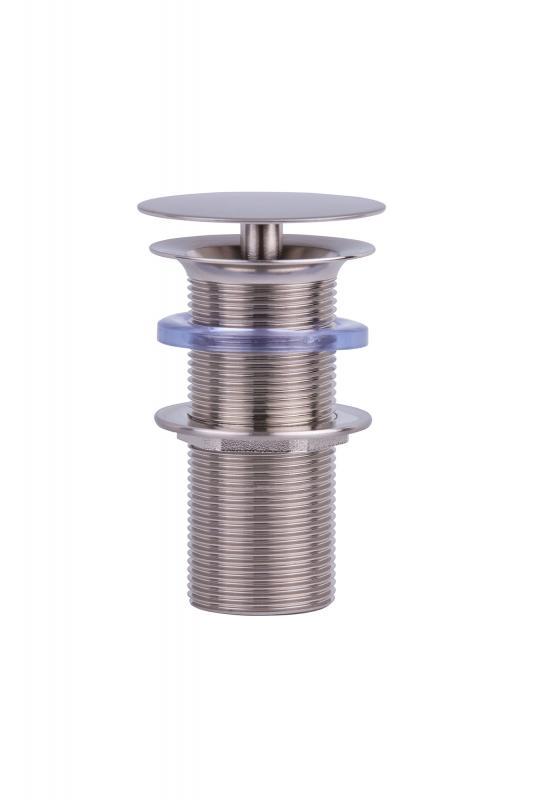 """Ablaufventil Inox-Edelstahl 1 1/4"""" (100 mm Schaft) permanent geöffnet   Spa Ambiente"""