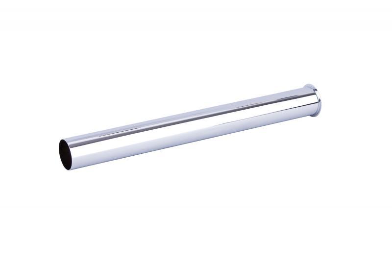 Tauchrohr für Design-Siphon, 30 cm, Messing verchromt   Spa Ambiente