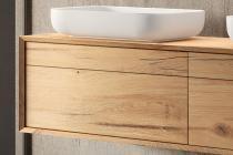 """Waschtischunterschrank """"Mero Plus"""" aus Eiche massiv   4 Schubladen   LAPIDISPA®"""