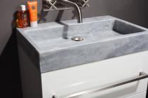 Naturstein Waschtisch PALERMO MARMOR matt poliert