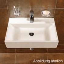 Villeroy & Boch Memento Waschtisch weiß mit CeramicPlus mit 1 Hahnloch mit Überlauf