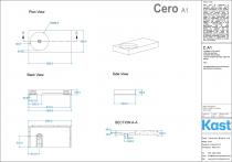Betonwaschtisch Cero C.A1