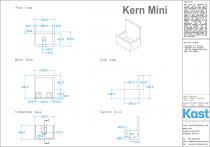 Kast Betonwaschtisch Kern Mini