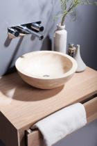 Waschtischunterschrank für Palermo / Bellezza aus Eiche Massivholz