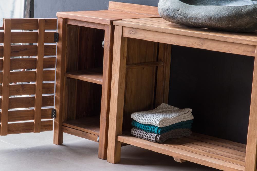 badm bel set smaart l aus recyceltem teak spa ambiente. Black Bedroom Furniture Sets. Home Design Ideas