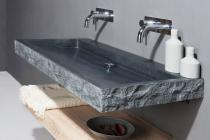 Naturstein Waschtisch PALERMO Granit bossiert