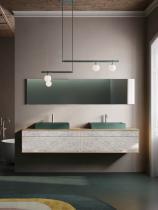 """""""Siro²"""" Waschtischunterschrank aus Massivholz mit 4 Schubfächer von Lapidispa®"""