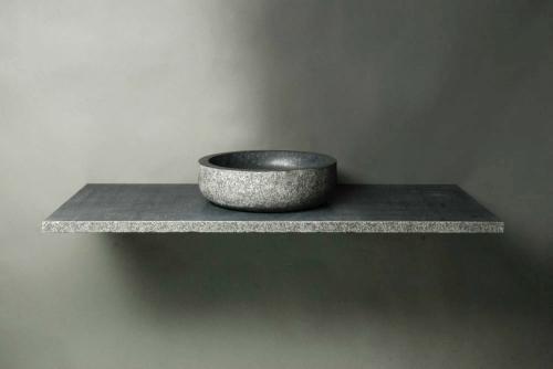 naturstein aufsatzwaschbecken verona granit rund spa ambiente. Black Bedroom Furniture Sets. Home Design Ideas