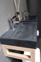Naturstein Waschtisch PALERMO GRANIT matt poliert