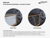 """""""Mero Plus"""" Waschtischunterschrank  aus Massivholz mit 2 Schubladen hängend von LAPIDISPA®"""