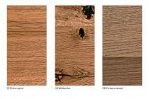 Waschtischplatte aus Eiche Massivholz