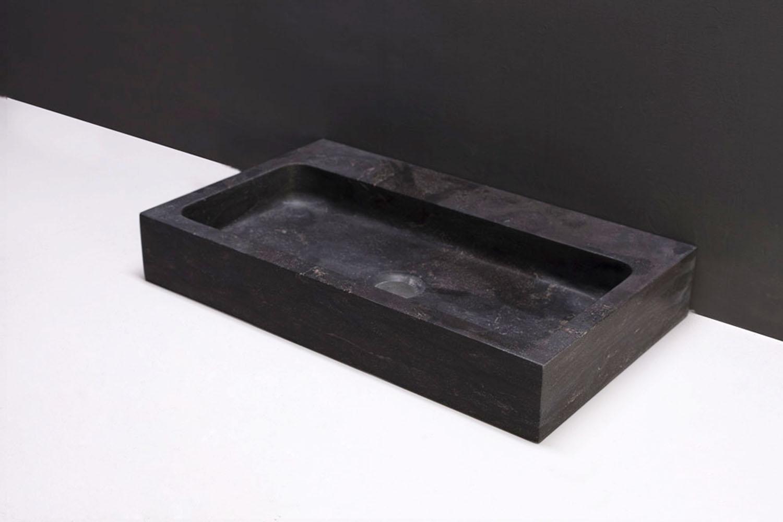 naturstein waschtisch taranto bluestone 50 cm spa ambiente. Black Bedroom Furniture Sets. Home Design Ideas