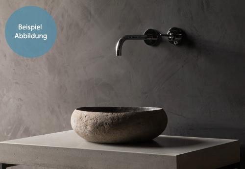 artikelbeispiel natursteinwaschbecken flussstein natural 40 cm spa ambiente. Black Bedroom Furniture Sets. Home Design Ideas