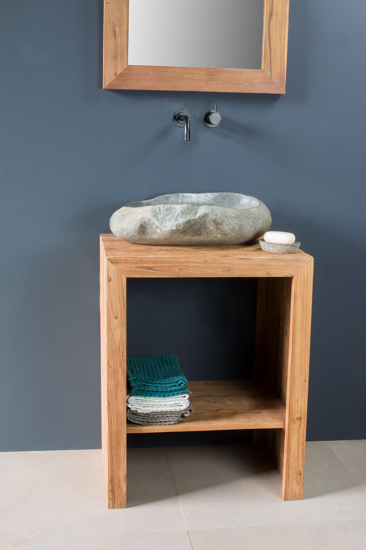 waschtischunterschrank bloq aus recyceltem teak spa. Black Bedroom Furniture Sets. Home Design Ideas