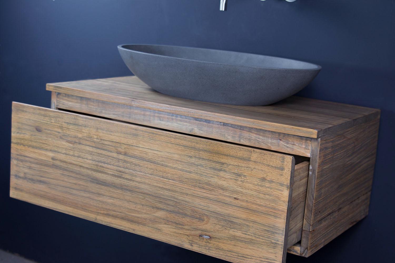 waschtischunterschrank h ngend lars 80 cm mit einem schubfach spa ambiente. Black Bedroom Furniture Sets. Home Design Ideas