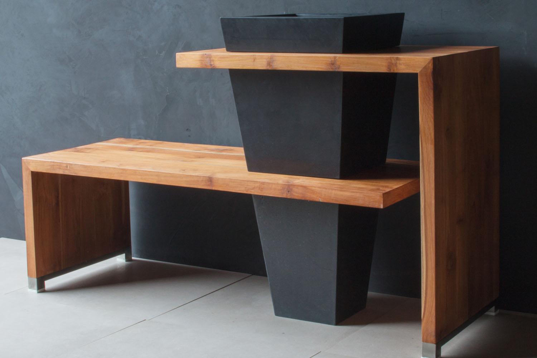 badm belset rq aus eiche marmor standwaschbecken spa ambiente. Black Bedroom Furniture Sets. Home Design Ideas