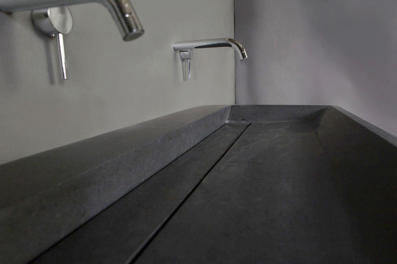 Naturstein Waschtisch BELLEZZA Granit matt poliert | Spa Ambiente