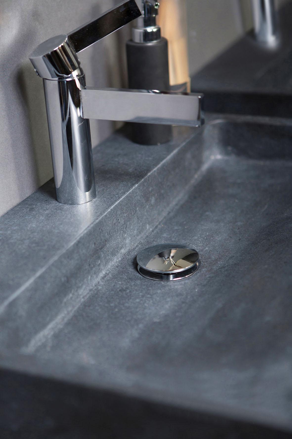 Naturstein Waschtisch PALERMO Granit matt poliert   Spa Ambiente