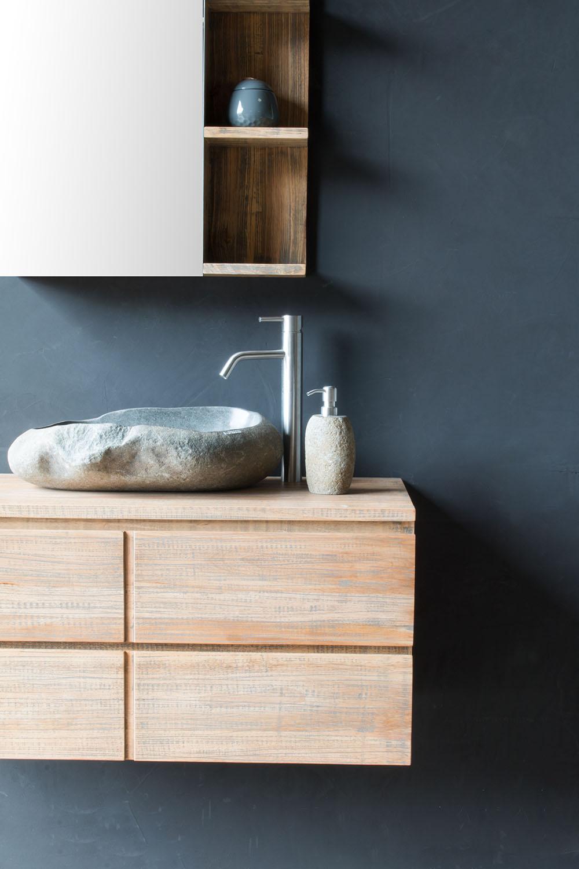 waschtischunterschrank h ngend jake 100 cm mit 2 gro en schubf chern spa ambiente. Black Bedroom Furniture Sets. Home Design Ideas